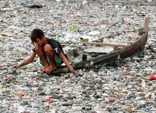 contaminacion de mares y rios causas