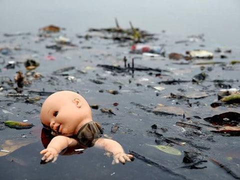 contaminacion de mares y rios mineros