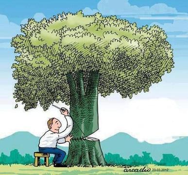 dibujos de como cuidar el planeta animados