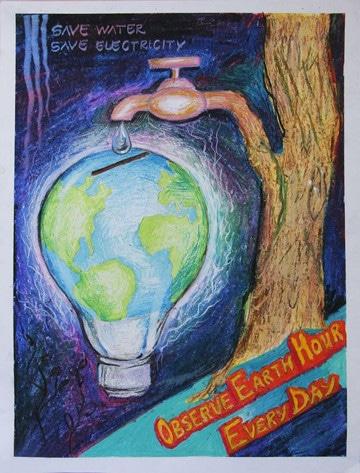 dibujos de como cuidar el planeta para ninos