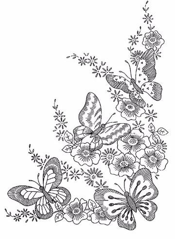 dibujos de primavera para imprimir animadas