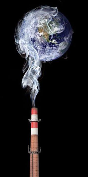 dibujos del planeta tierra contaminado animadas