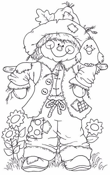 Dibujos Para Colorear De Otoño E Invierno 2016 Imagenes Del Medio