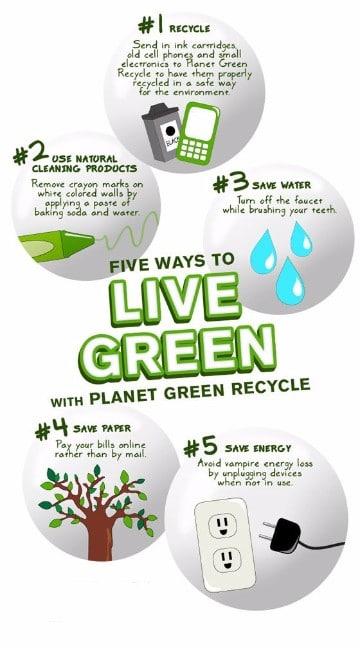formas de cuidar el planeta en ingles