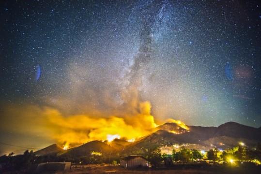 fotos de incendios forestales imprimir