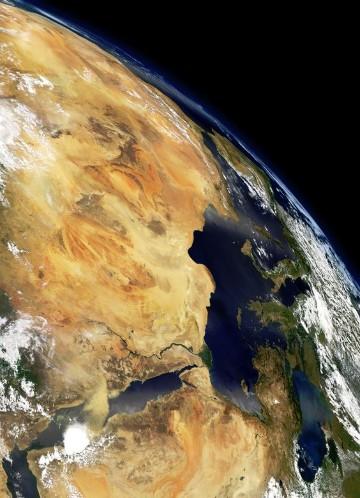 fotos del mundo desde el espacio visto