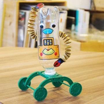 juguetes con material reciclado faciles hechos