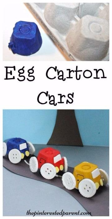 juguetes con material reciclado faciles niños pre escolar