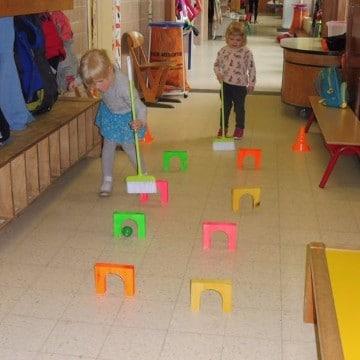 material reciclado para educacion fisica actividades