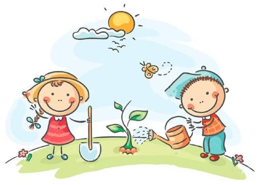 Fotos de ni os cuidando la naturaleza y el medio ambiente for Estudiar jardineria