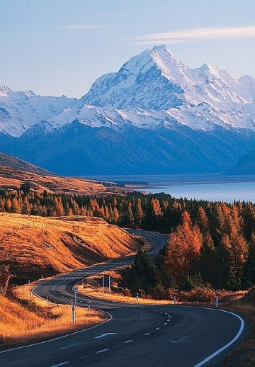 paisajes otonales del mundo bellos