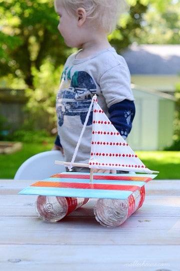 proyectos de material reciclado para niños