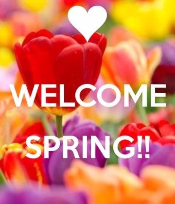 tarjetas de primavera gratis para enviar