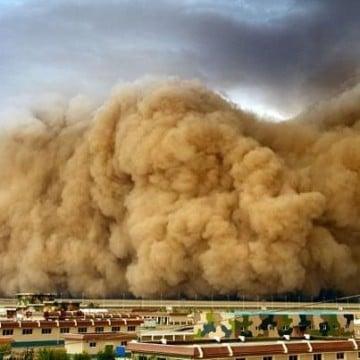 tormentas de arena en dubai en el mundo