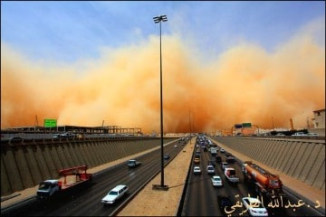 tormentas de arena en dubai temporada