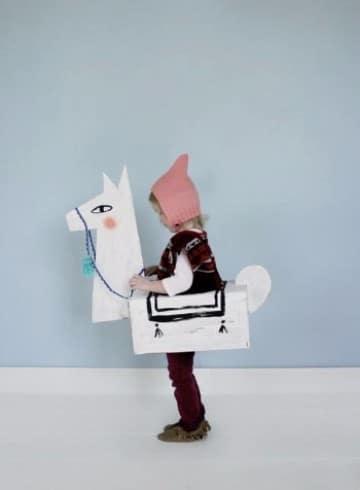 trajes de material reciclado para-niños inicial