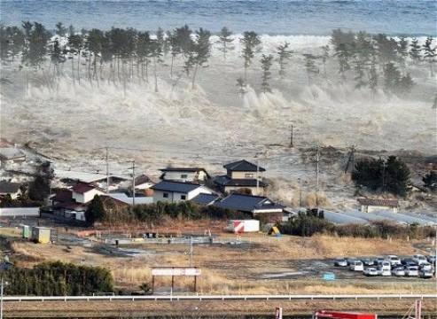 desastres naturales tsunami en japon