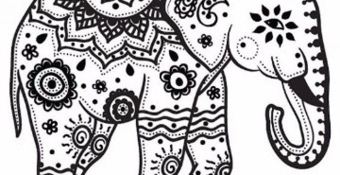 Dibujo Elefante Para Colorear E Imprimir: Dibujos De Elefantes Para Imprimir. Excellent Juegos De