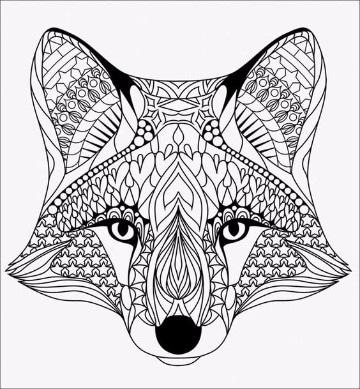 dibujos para colorear animales de la sierra