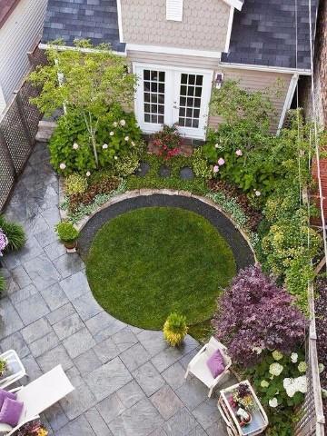Dise os para jardines peque os bonitos y sencillos for Jardines pequenos originales