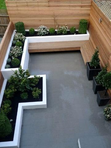 Dise os para jardines peque os bonitos y sencillos for Jardines pequenos y baratos