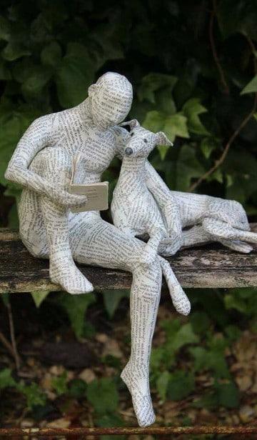 esculturas con materiales reciclados escultores