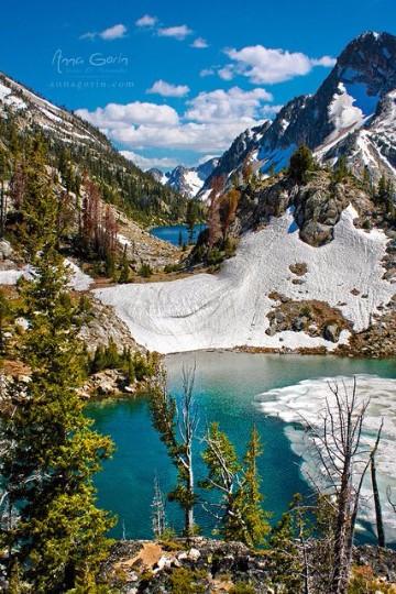 fotos de montañas nevadas paisajes