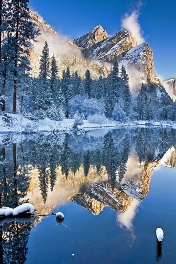 fotos de montañas nevadas valles