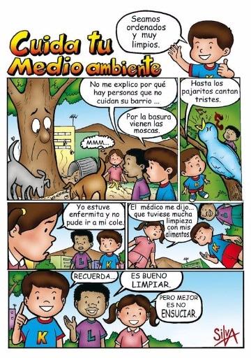 historietas del medio ambiente en español