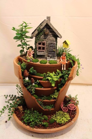 Ideas para hacer un jardin peque o y moderno en casa - Como hacer un jardin bonito ...