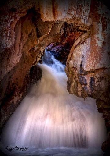 imagenes de cascadas de agua azul en mexico