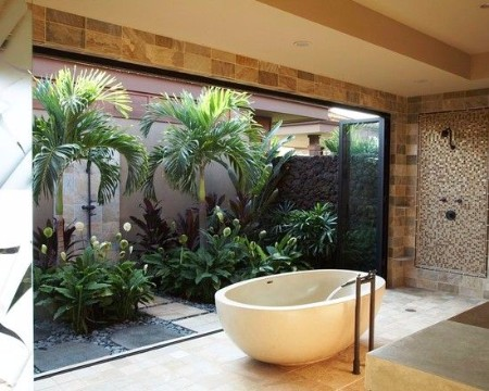 Dise o de jardines peque os modernos y sencillos for Jardines pequenos adornados con piedras