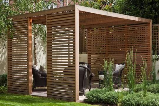 Diseño de jardines pequeños modernos y sencillos