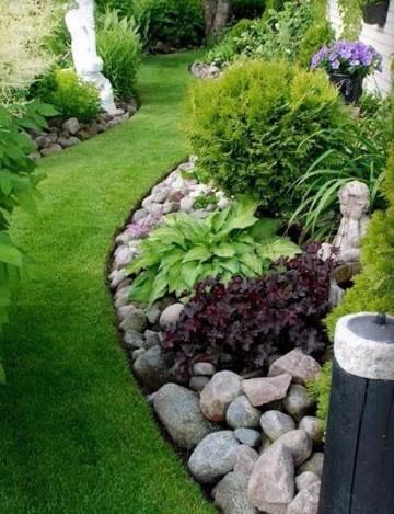 Paisajismo jardines peque os modernos bonitos e internos for Jardines modernos con piedras