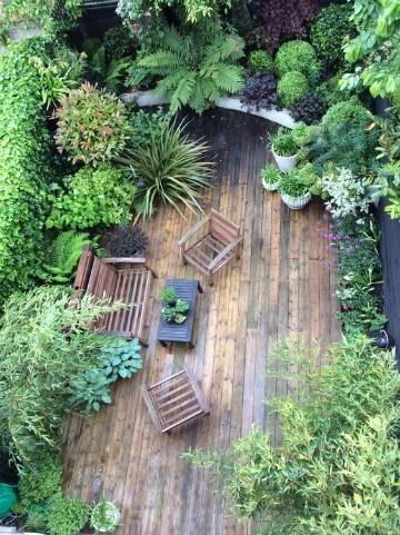 paisajismo jardines pequeños fotos