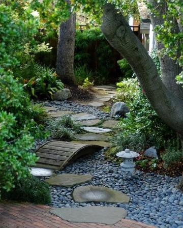 paisajismo jardines pequeños imagenes