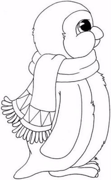 Dibujos De Pinguinos Para Colorear Animados Para Niños Imagenes