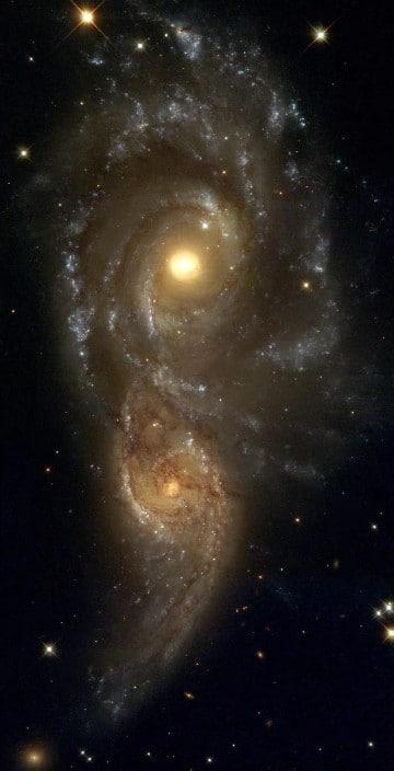 imagenes de galaxias elipticas irregulares