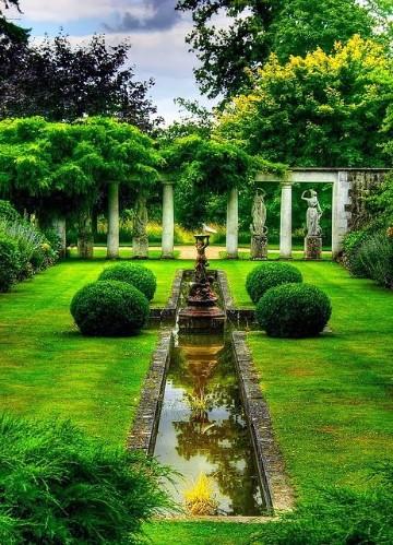 Imagenes de jardines hermosos sencillos y bonitos for Dibujos de jardines