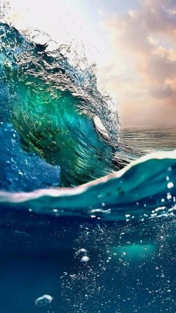 imagenes de olas de mar con marea