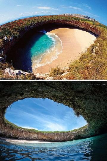 imagenes de paisajes de playas para dibujar