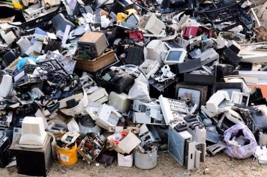 tipos de basura electronica nueve