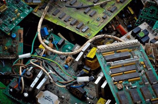 tipos de basura electronica reciclaje