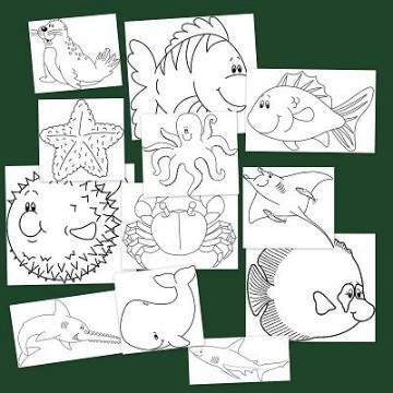 dibujos de verano para colorear ilustraciones