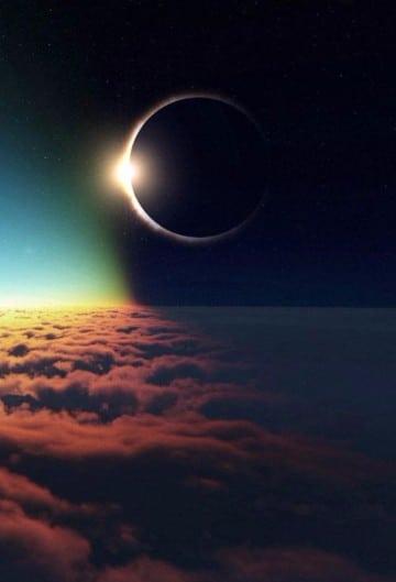 imagenes de eclipse lunar 2016