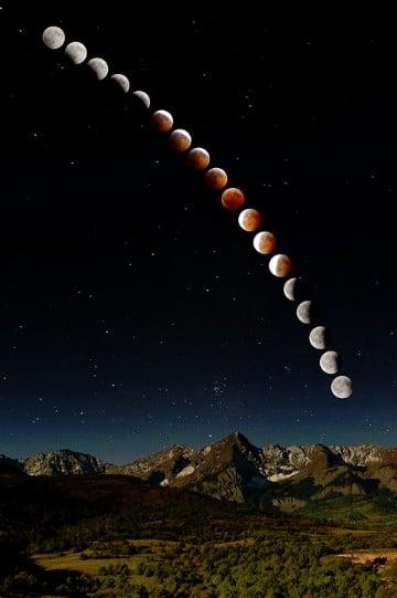 imagenes de eclipse lunar y solar