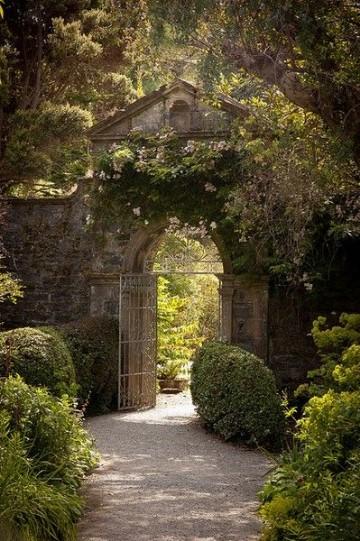 imagenes de jardines bonitos casas