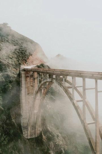 imagenes de puentes colgantes de madera