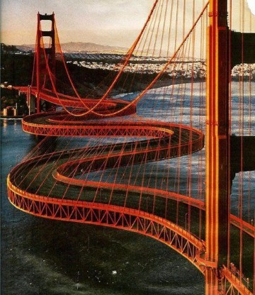 imagenes de puentes colgantes del mundo