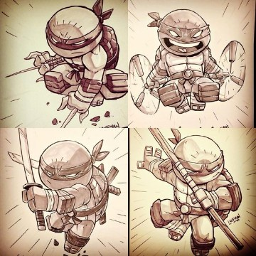 imagenes de tortugas para dibujar infantiles